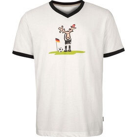 Elkline Ecke T-shirt Heren, white